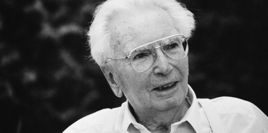 <p>UNSPECIFIED - CIRCA 1994:  Portrait of austrian psychologist Viktor Frankl, Photograph, 1994  (Photo by Imagno/Getty Images)  [Portr?t Viktor Frankl, Photographie, 1994]</p>