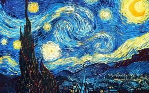 Van Gogh, Notte stellata - La chiave di Sophia