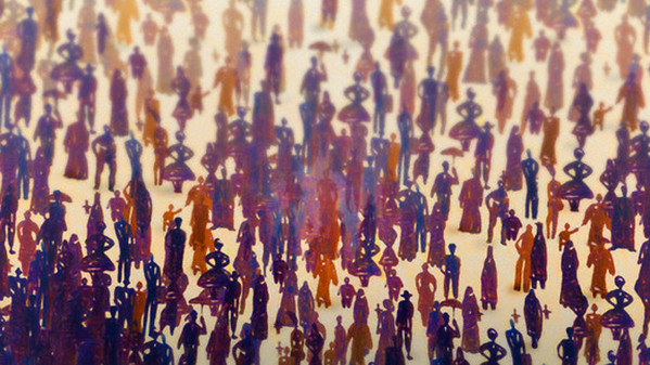 <p>defocused crowd of people --- Image by © Images.com/Corbis</p>