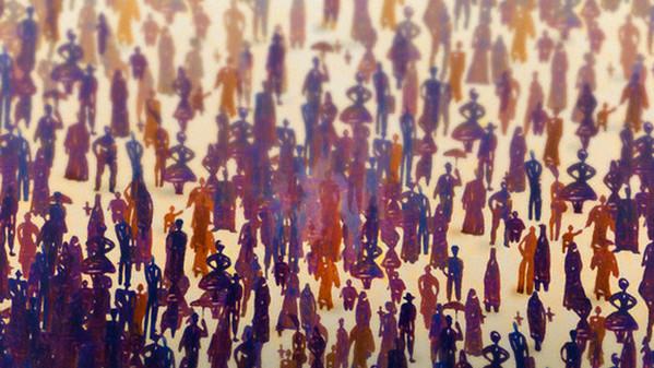 <p>defocused crowd of people --- Image by © Images.com/Corbis</p>