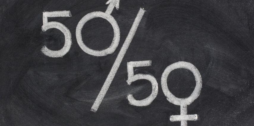 <p>gender equal opportunity or representation</p>