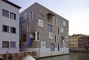 Edifici residenziali area ex-Junghans, Giudecca - Venezia, 1997-2002