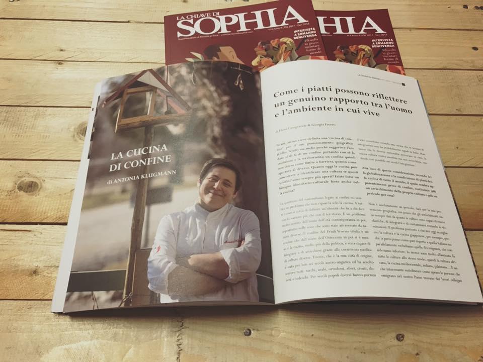 Antonia Klugmann_rivista_La Chiave di Sophia_foodismo