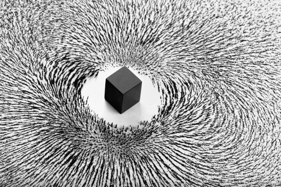 how to make magnetic dust
