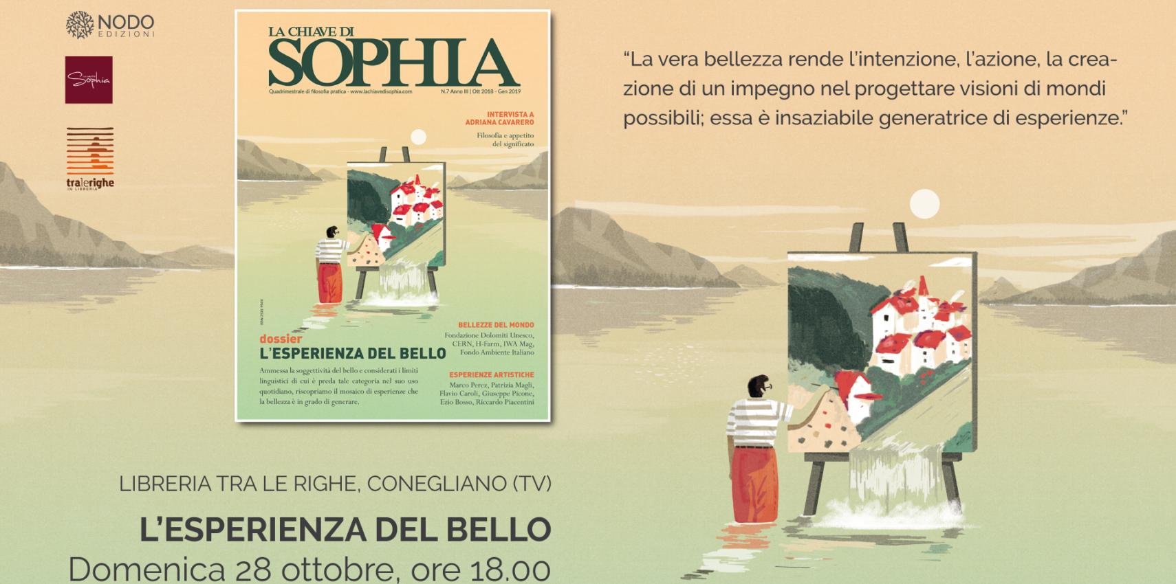 Lesperienza Del Bello La Chiave Di Sophia 7 Conegliano