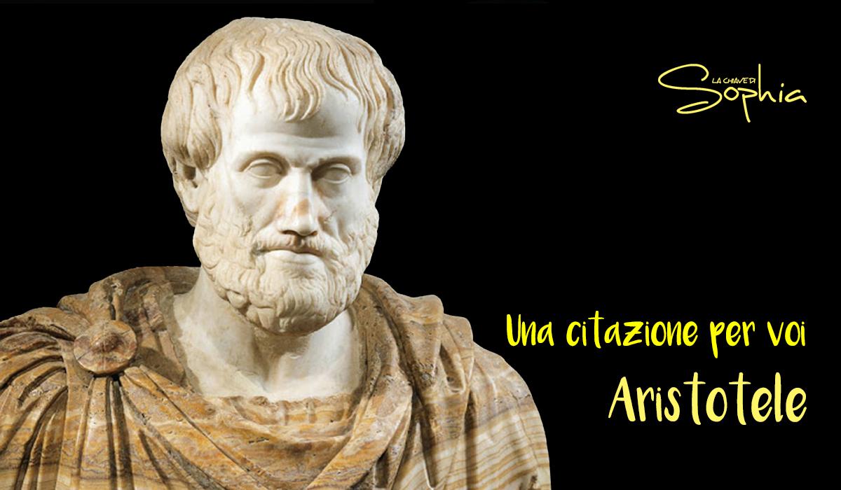 aristotele conoscenza